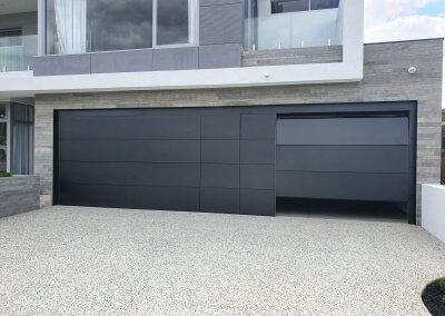 Flush Mount garage door multi