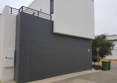 hidden flush mount garage door1