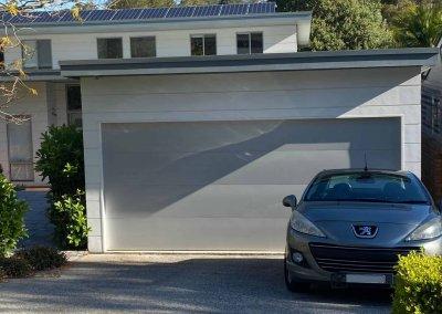 Flat Panel Garage Door Colorbond Shale Grey