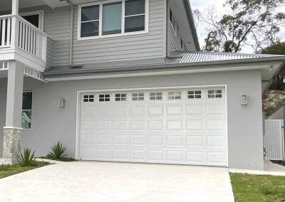 Hamptons Classic Sectional Garage Door with Windows