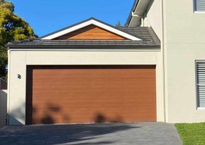 Sectional Garage Door Timberlook