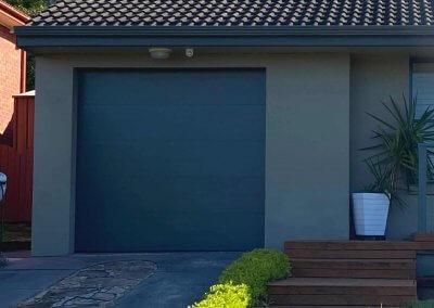 Single Sectional Garage Door